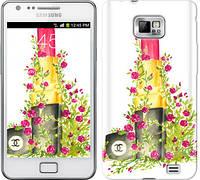 "Чехол на Samsung Galaxy S2 i9100 Помада Шанель ""4066c-14-328"""