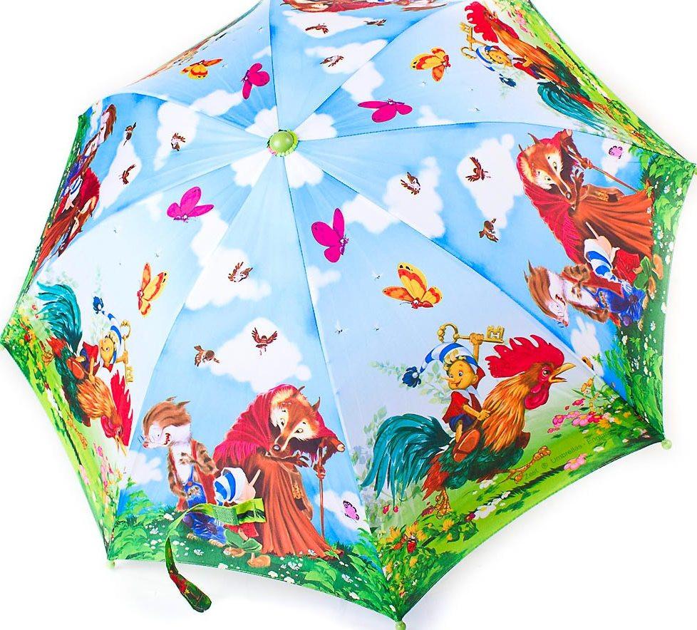 Детский зонт-трость полуавтомат ZEST Z21665-6