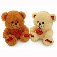 Мягкая игрушка Lava Медведь Малый с декоративными сердечками (LF867A)