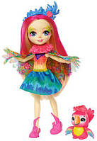 Кукла Mattel Enchantimals Пикки Какаду (FJJ21)