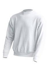 Белый свитшот женский под печать, JHK T-shirt , Испания, промо одежда, размеры XS - 3XL