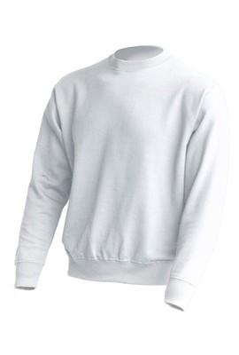 cee24e61a139c Белый свитшот женский под печать, JHK T-shirt , Испания, промо одежда,