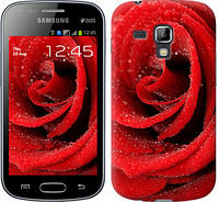 "Чехол на Samsung Galaxy S Duos s7562 Красная роза ""529c-84-328"""