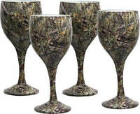 Набор бокалов Riversedge для вина Сamo Wine Glasses Bassofl 4 шт., 235 мл