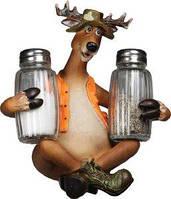 Набор кухонный Riversedge Deer Salt & Pepper Set соль/перец полимер/стекло