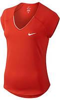 Теннисная футболка NIKE W PURE TOP