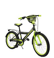 Велосипед двухколёсный  20 дюймов Спорт 182041 салатовый ***