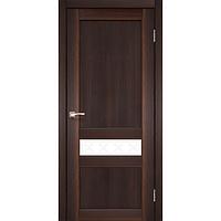 Межкомнатная дверь Classico CL-06 глухое с белым стеклом без штапика