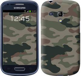 "Чехол на Samsung Galaxy S3 mini Камуфляж v3 ""1097c-31-328"""
