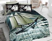 Комплект постельного белья Best Class сатин 3D Digital евро 7