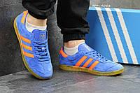 Кеды мужские Adidas Hamburg, светло-синие