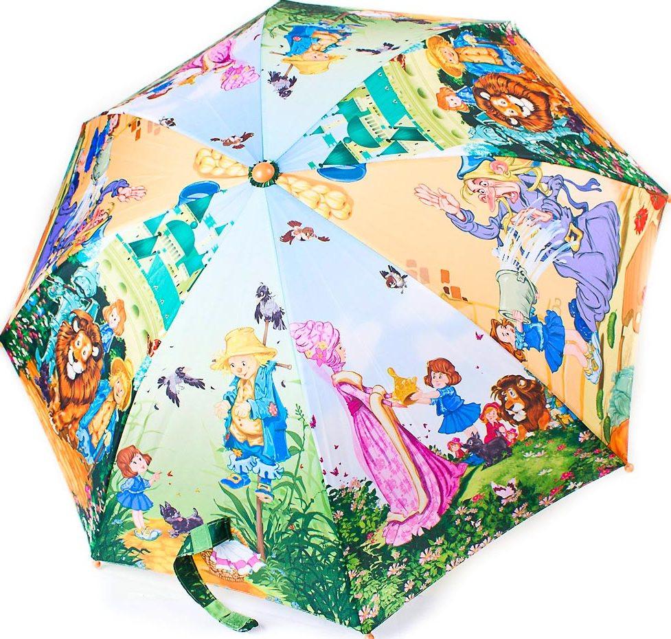 Детский зонт-трость полуавтомат ZEST Z21665-1