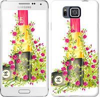 "Чехол на Samsung Galaxy Alpha G850F Помада Шанель ""4066c-65-328"""