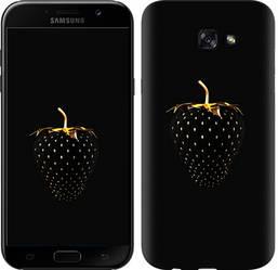"""Чехол на Samsung Galaxy A7 (2017) Черная клубника """"3585c-445-328"""""""