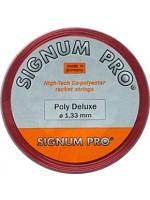 Теннисные струны Signum Pro Poly Deluxe Red 12,2m