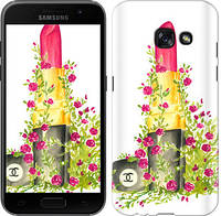 "Чехол на Samsung Galaxy A3 (2017) Помада Шанель ""4066c-443-328"""
