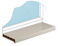 Подоконник Moeller (Мюллер, Меллер) Ширина 150мм глянец x за метр с порезкой
