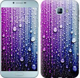 "Чехол на Samsung Galaxy A8 (2016) A810 Капли воды ""3351c-614-328"""