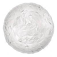 Блюдо стеклянное прозрачное Bormioli Rocco Diamond 33 см (прозрачный)