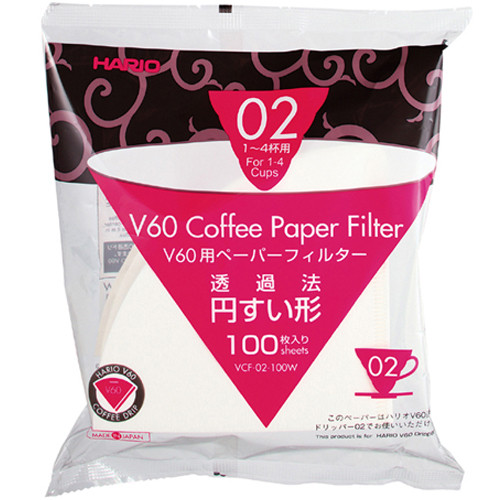 Бумажный фильтр Hario 01-04 100W белый