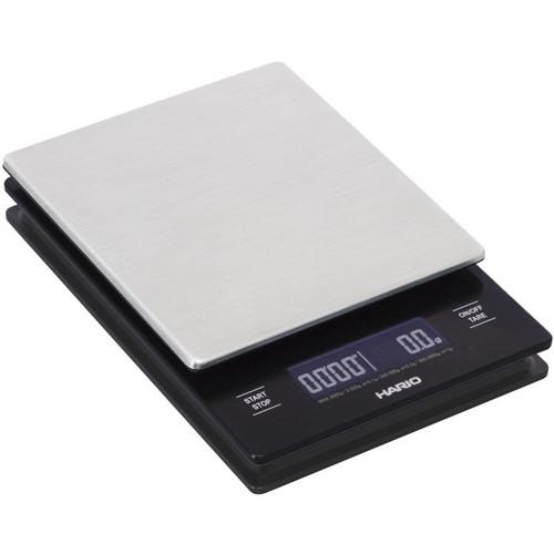 Весы Hario V60 Metal Drip Scale с LED-дисплеем (VSTM-2000HSV)