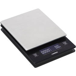 Ваги Hario V60 Metal Drip Scale з LED-дисплеєм (VSTM-2000HSV)