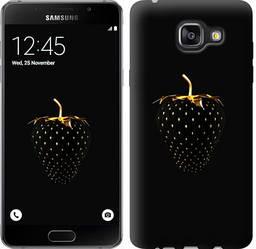 """Чехол на Samsung Galaxy A5 (2016) A510F Черная клубника """"3585c-158-328"""""""