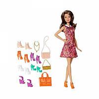 Кукла Барби Тереза Модная вечеринка с обувью и аксессуарами Barbie Teresa Shoes Accessories