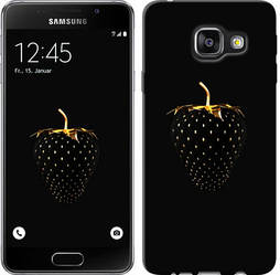 """Чехол на Samsung Galaxy A3 (2016) A310F Черная клубника """"3585c-159-328"""""""