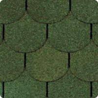 Шинглас Классик Танго бобровый (зеленый)