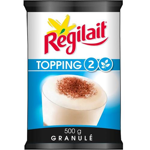 Сухое молоко в гранулах Regilait Topping 2 Blue 500 г