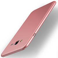 Чехол Soft для Samsung J7 Neo / J701 бампер Rose Gold