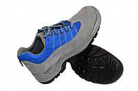 Спецовые кроссовки с мет носком Reis S1P замш\нубук лето весна для сварщика, электрика