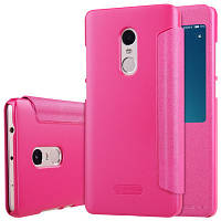Чехол Nillkin для Xiaomi Redmi Note 4x / Note 4 Global Version книжка Sparkle Series Pink