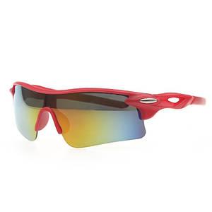 Очки спортивные Robesbon велосипедные спортивные велоочки MD Red