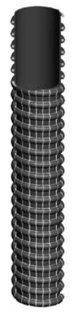 Шланг для подачи тепла и свежего воздуха на судах, —20°С/+100°С, 1560