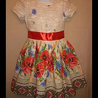 Детские платья в Украинском стиле.