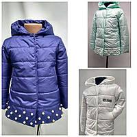 """Куртка детская """"Рика"""" разные цвета для девочек от 2 до 7лет( 98-128 рост)"""