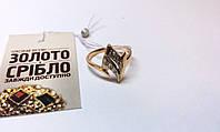 Золотое кольцо. Размер 16,5. Вес 2,63 грамм. Комиссионное, б/у.