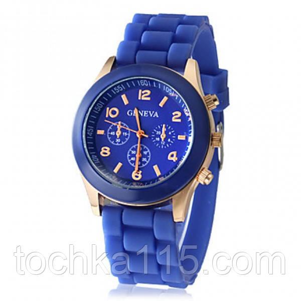Часы женские Geneva синий реплика