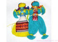 Кукла-мотанка пара средняя Украина [335096]