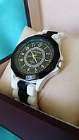 Часы женские GENEVA черный/белый реплика, фото 1
