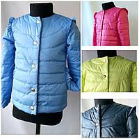 """Куртка подростковая """"Радуга"""" разные цвета для девочек от 6до 12 лет( рост 128-158)"""