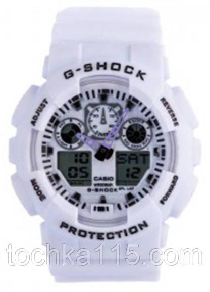 Casio g-shock ga-100 белый реплика
