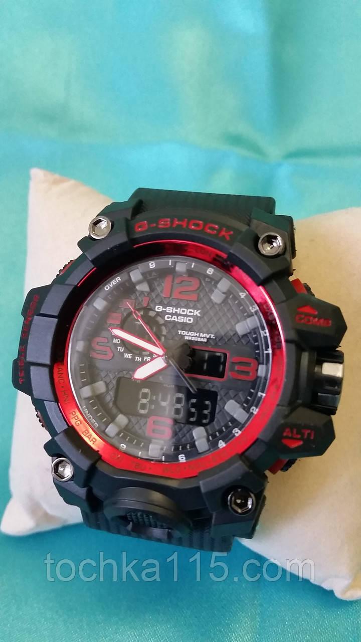 Часы мужские CASIO G-Shock new красный 003 реплика, фото 1
