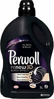 Жидкое средство для деликатной стирки Perwoll Восстановление + черный 3 л