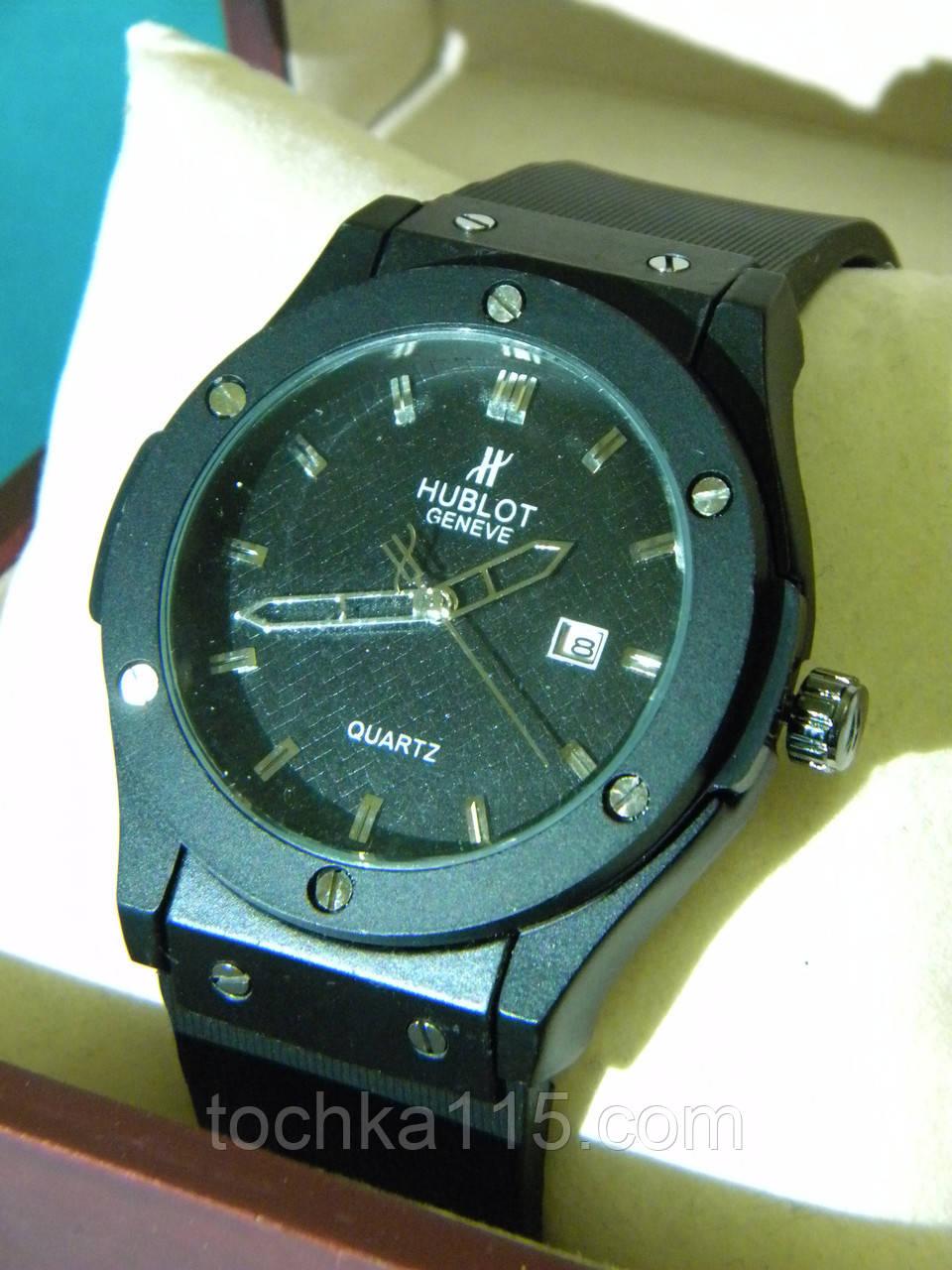 Наручные часы HUBLOT черные реплика