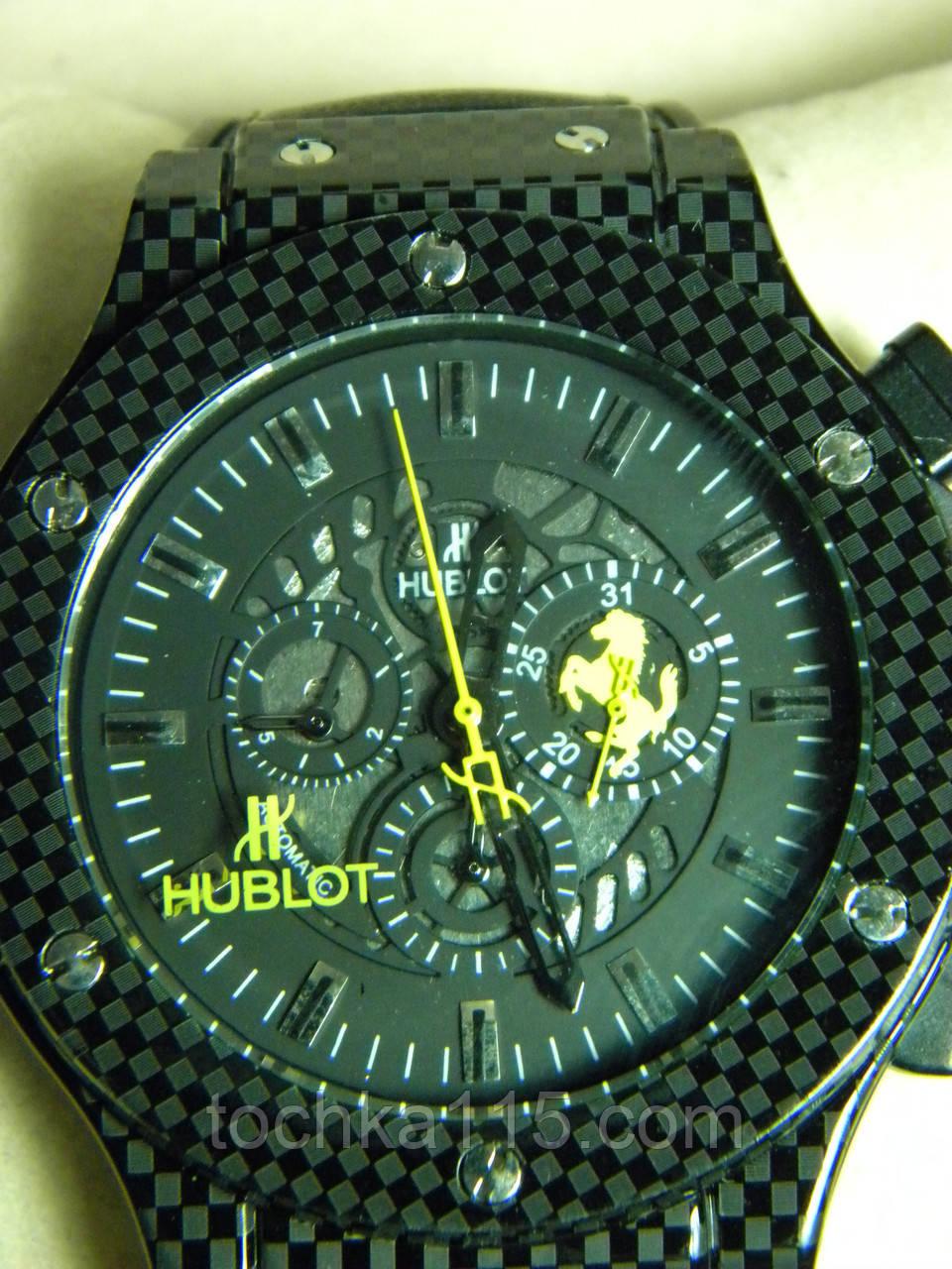 Часы наручные Hublot механика реплика