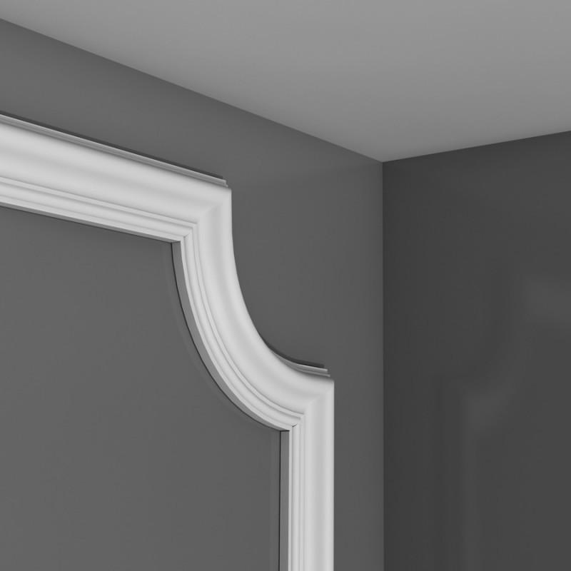 Лепнина Орак декор P801C Угловой элемент для молдинга P801 Orac Decor