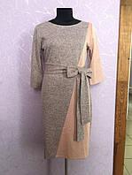 "Теплое платье большой размер ""Missouri"" 2P/NS-5635"